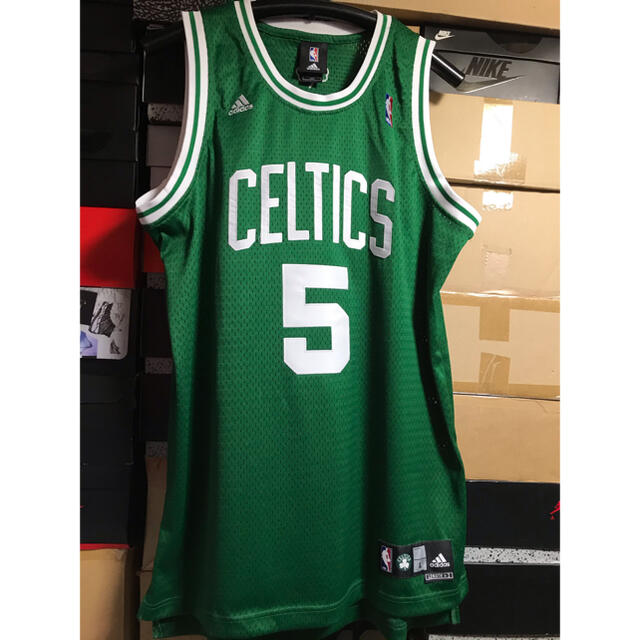 NIKE(ナイキ)のNBA ボストン セルティックス ケビンガーネット スウィングマン ユニフォーム スポーツ/アウトドアのスポーツ/アウトドア その他(バスケットボール)の商品写真