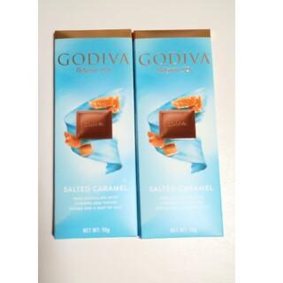 ゴディバ タブレット ソルテッドキャラメル 2枚セット(菓子/デザート)