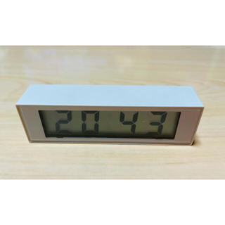MUJI (無印良品) - デジタル置き時計