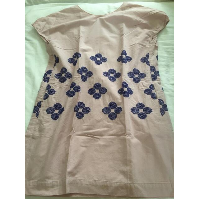 mina perhonen(ミナペルホネン)の美品 ミナペルホネン   hana beads ランドリー ワンピース レディースのワンピース(ひざ丈ワンピース)の商品写真