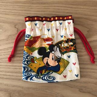 Disney ミッキー&ミニー巾着(ランチボックス巾着)