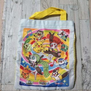 ポケモン メロエッタのキラキラ リサイタル メッシュミニバッグ(その他)