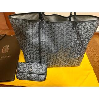 GOYARD - 新品正規品 ゴヤール サンルイ GM グレー ポーチ付き