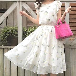 ノエラ(Noela)のノエラ オリジナルオパールフラワー柄スカート(ロングスカート)