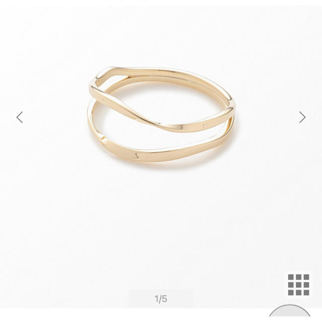 ete(エテ)のJouete ジュエッテ 指輪9号 イエローゴールド  レディースのアクセサリー(リング(指輪))の商品写真