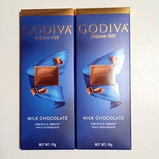 GODIVA ゴディバ タブレット ミルクチョコレート(菓子/デザート)