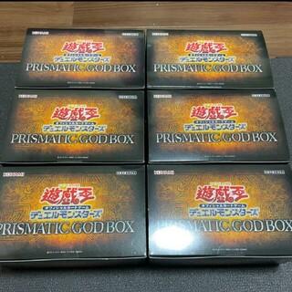 ラー確定 遊戯王 prismatic god box 6BOX(Box/デッキ/パック)