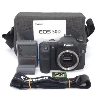 キヤノン(Canon)のCFカード付き♪大人気のデジカメ入門機♪Canon 50D ボディ(デジタル一眼)