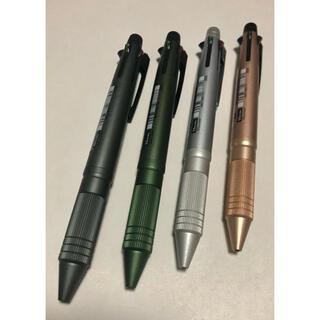 ミツビシエンピツ(三菱鉛筆)のジェットストリーム4&1MetalEdition メタルエディション 4本セット(ペン/マーカー)