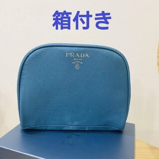 PRADA - 新品未使用 プラダ PRADA ポーチ 化粧ポーチ コスメポーチ 正規品