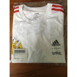 アディダス(adidas)のアディダス ポケモン Tシャツ adidas pokemon  コラボTシャツ(Tシャツ/カットソー(半袖/袖なし))
