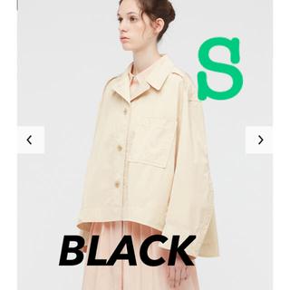 ユニクロ(UNIQLO)の完売品 ユニクロ ジルサンダー オーバーサイズシャツジャケット ブラック S(その他)