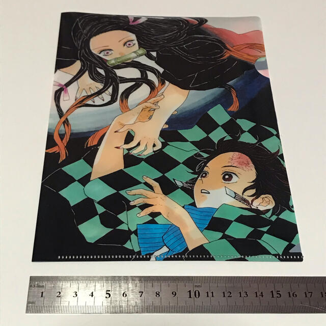 鬼滅の刃クリアファイル エンタメ/ホビーのアニメグッズ(クリアファイル)の商品写真
