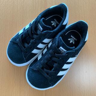 アディダス(adidas)の【アディダス】新品未使用 ベビー スニーカー campus ブラック 13cm(スニーカー)