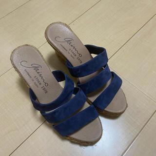 ガイモ(gaimo)の美品⭐️イエナ  gaimo  サンダル36(サンダル)