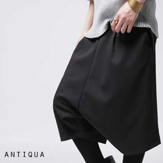 antiqua - アンティカ antiqua レディース サルエル ハーフパンツ 新品未使用