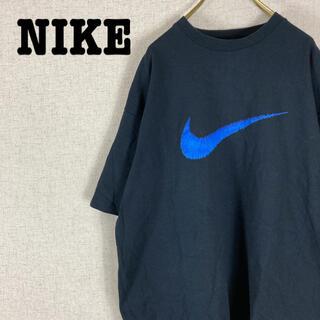 NIKE - 90s NIKE ナイキ Tシャツ 半袖 白タグ スウォッシュビッグロゴ