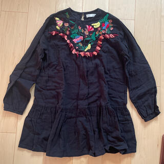 ZARA KIDS - 新品タグ付き●ZARA KIDS●刺繍ワンピース