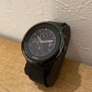 スント(SUUNTO)のSUUNTO スント 3 fitness フィットネス オールブラック(腕時計(デジタル))