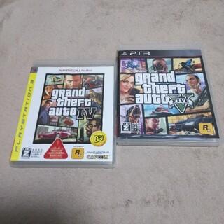 プレイステーション3(PlayStation3)のグランド・セフト・オート 4&5/ PS3(家庭用ゲームソフト)