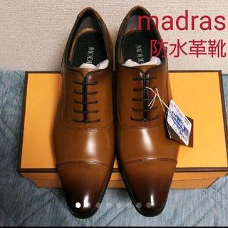 madras - 新品未使用☆madras modello(マドラスモデロ)防水革靴 24.5cm
