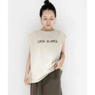Plage - Plage  CASA BLANCA  スリーブレスTシャツ