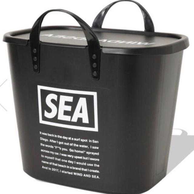 Ron Herman(ロンハーマン)の新品 wind and sea ウィンダンシー バケツ スタックバケツ  インテリア/住まい/日用品の収納家具(ケース/ボックス)の商品写真