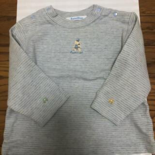 familiar - ファミリア 80センチ 長袖ボーダーTシャツ