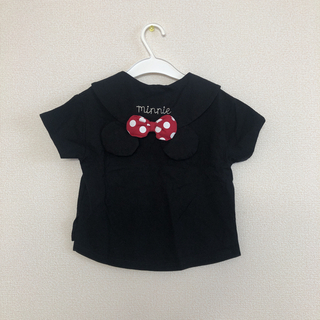 futafuta - バースデイ フタフタ ミニー 襟 新品 半袖 95 黒 セーラ