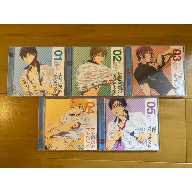 Free! キャラクターソングセット エンタメ/ホビーのCD(アニメ)の商品写真