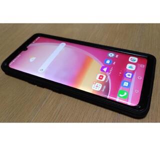 エルジーエレクトロニクス(LG Electronics)のSIMフリー LG VELVET 5G 128GB ケース付き(スマートフォン本体)