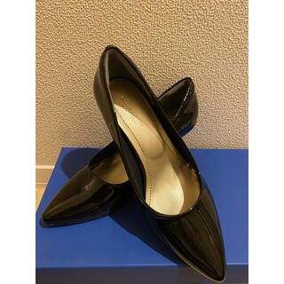新品未使用★ALETTA アレッタ 究極のパンプス 黒 ブラック 24cm(ハイヒール/パンプス)