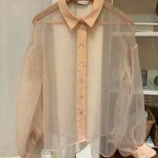 ZARA - レースシャツ