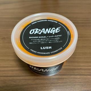 LUSH - LUSH ラッシュ シトラス オレンジ シャワースクラブ 130g