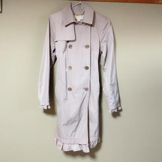 マイケルコース(Michael Kors)の洗濯可 フリルトレンチコート(トレンチコート)
