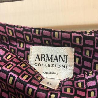 アルマーニ コレツィオーニ(ARMANI COLLEZIONI)のイタリア製、正規商品、アルマーニ38サイズ、フレアスカート、美品です!(ひざ丈スカート)