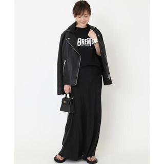 DEUXIEME CLASSE - Cu/R マキシスカート ブラック