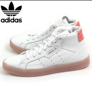 adidas - 【新品】【サイズ:22.5㎝】adidasレディーススニーカーSLEEK MID