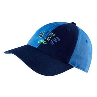 ナイキ(NIKE)の新品 ❁NIKE ナイキ キッズ キャップ 帽子 ブルー❁(帽子)