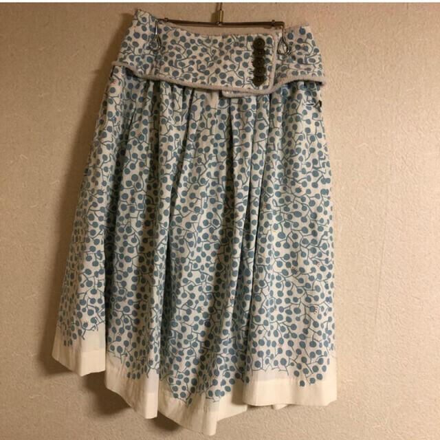 mina perhonen(ミナペルホネン)のミナペルホネン sprout  スカート レディースのスカート(ひざ丈スカート)の商品写真