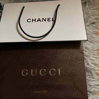 Gucci - GUCCI  CHANELのショッパー