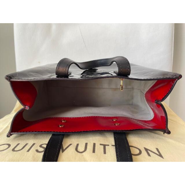 LOUIS VUITTON(ルイヴィトン)のルイヴィトン ヴェルニ  リードPM トートバッグ ハンドバッグ ミニ 正規品 レディースのバッグ(トートバッグ)の商品写真