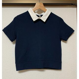 フーズフーチコ(who's who Chico)のChico 襟付きトップス (Tシャツ(半袖/袖なし))
