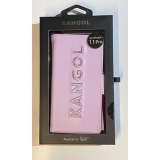 カンゴール(KANGOL)のiPhoneケース KANGOL カンゴール iPhone11pro(iPhoneケース)