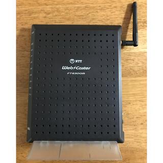 エヌティティドコモ(NTTdocomo)のWI-FI ウェブキャスターFT6300M-AP 無線LAN(PC周辺機器)