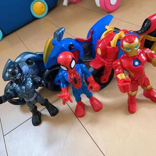 マーベル(MARVEL)のスパイダーマン バイク セット(キャラクターグッズ)