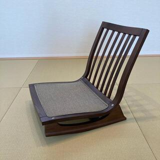 カリモクカグ(カリモク家具)の美品⭐︎カリモク 座椅子(座椅子)