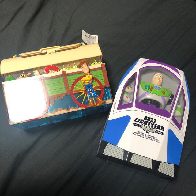 Disney(ディズニー)のディズニー ポップコーン バケット トイストーリー エンタメ/ホビーのおもちゃ/ぬいぐるみ(キャラクターグッズ)の商品写真