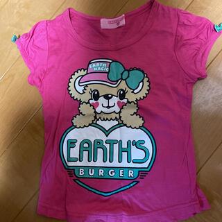 EARTHMAGIC - アースマジック マフィーラメTシャツ☆