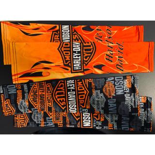 ハーレーダビッドソン(Harley Davidson)の日除け アームカバー ハーレーダビッドソン ハーレー ロゴ(装備/装具)